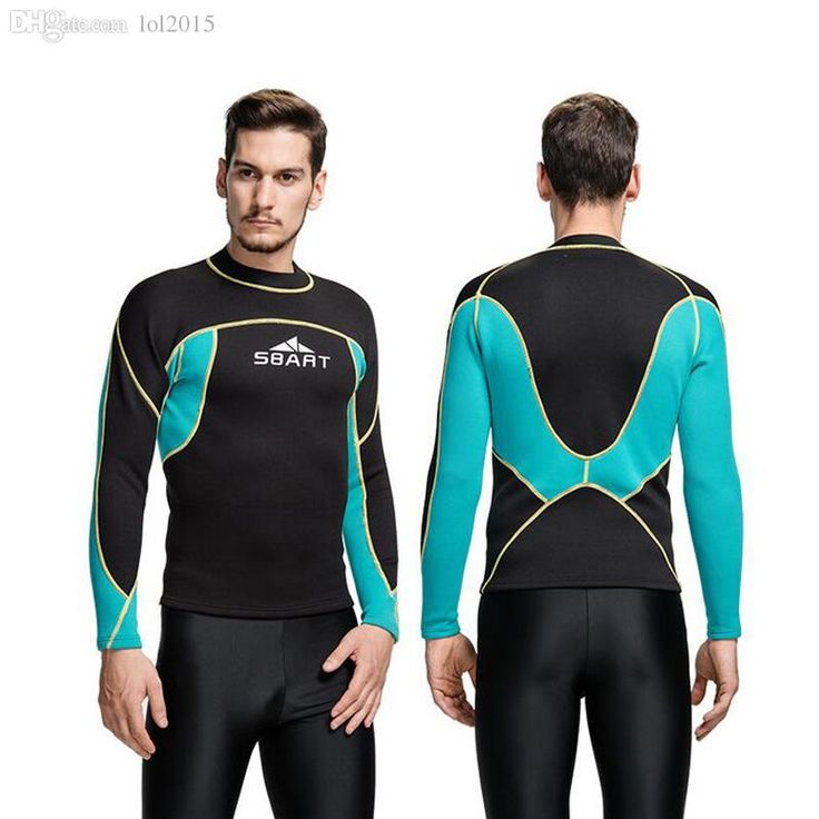 Best Wholesale Sbart New Wetsuit 2mm Mens Neoprene Swim Shirt Free Dive Wetsuits Surf Shirts Long Sleeve Rashguard Neopreno Plus Size Under $58.68 | Dhgate.Com