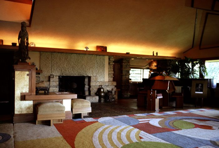 Taliesin interiorTaliesin Spring Green Wi Interior