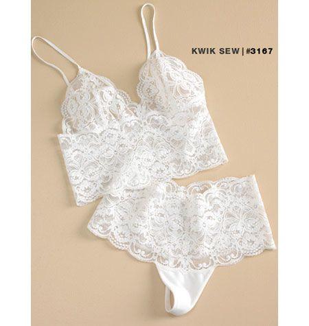 Kwik Sew K3167 Misses' Camisoles & Panties