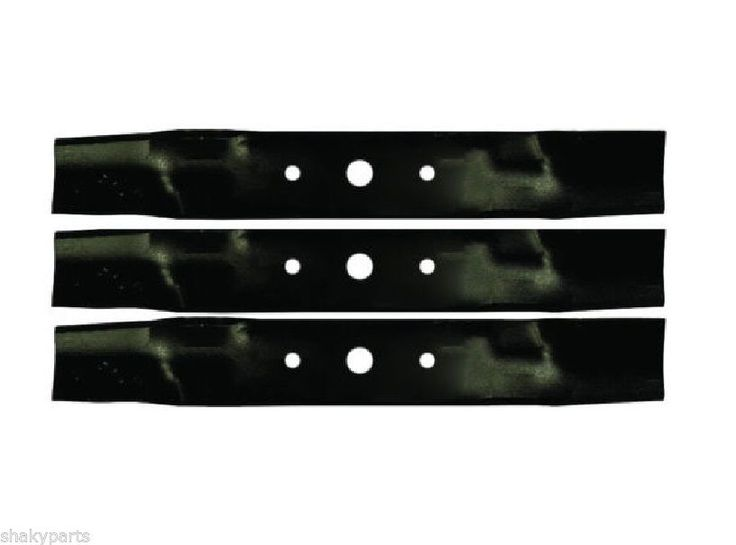 "Blades for 48"" Deck John Deere L120 L130 Lawn Tractors Mower 512225   eBay"