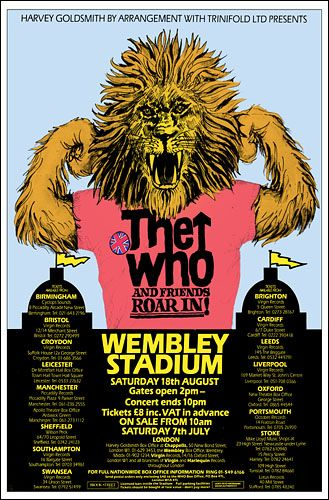 The Who #concertposters
