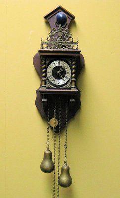 Vintage Dutch Zaandam Zaanse Wall Clock Ebay For Sale At