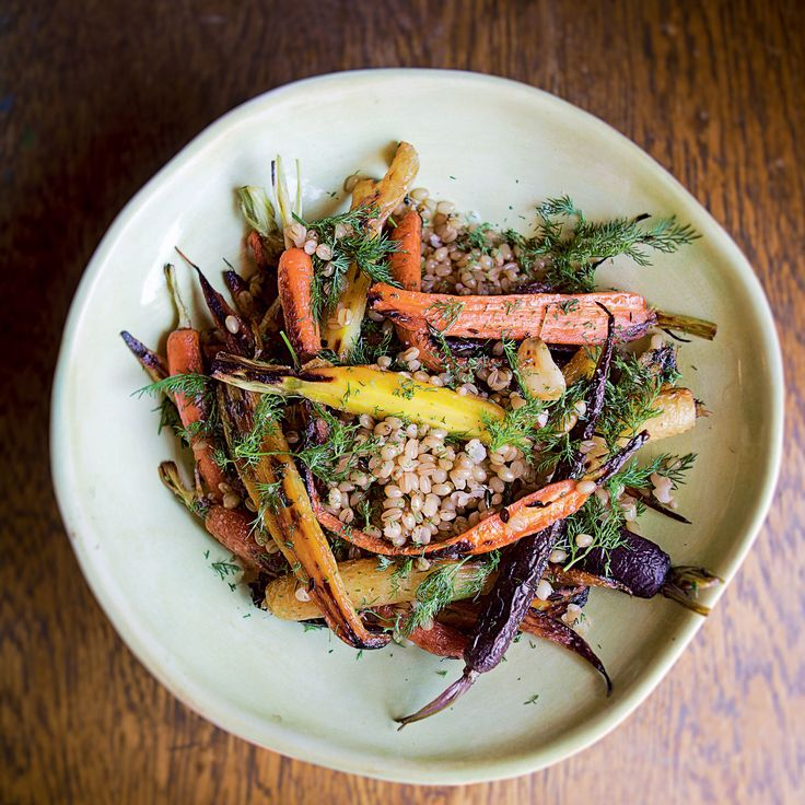 ... Season's Best Chefs | Thanksgiving, Berry salad and Roasted carrots
