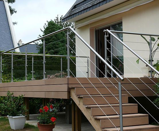 9 best garde corps images on Pinterest Stairs, Terrace and