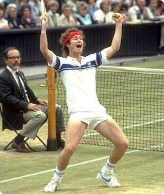 Watched McEnroe McKenna and Lendl play tennis live. Did that. Wow, great memory!                                                                                                                                                                                 More