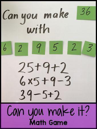 Brilliant 1000 Ideas About Math Games On Pinterest Multiplication Math Easy Diy Christmas Decorations Tissureus
