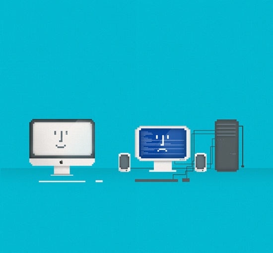 Mac vs. PC? the Battle Begins! =D?
