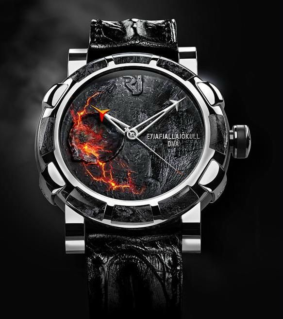 Romain Jerome Eyjafjallajökull DNA Watch Uses Volcanic Ash From Last Week's Explosion