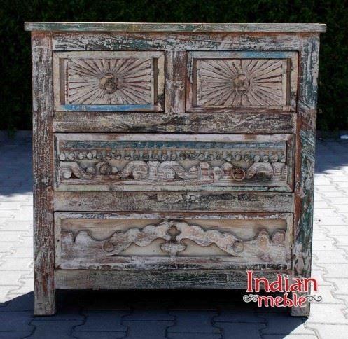 Polecamy wspaniale rzeźbione komody indyjskie z szufladami. :) Na fotografiach: ✬ Komoda 1: http://bit.ly/2dD5uln ✬ Komoda 2: http://bit.ly/2d4E2GC ✬ Komoda 3: http://bit.ly/2dDTdt6 ✬ Komoda 4: http://bit.ly/2egc7bH