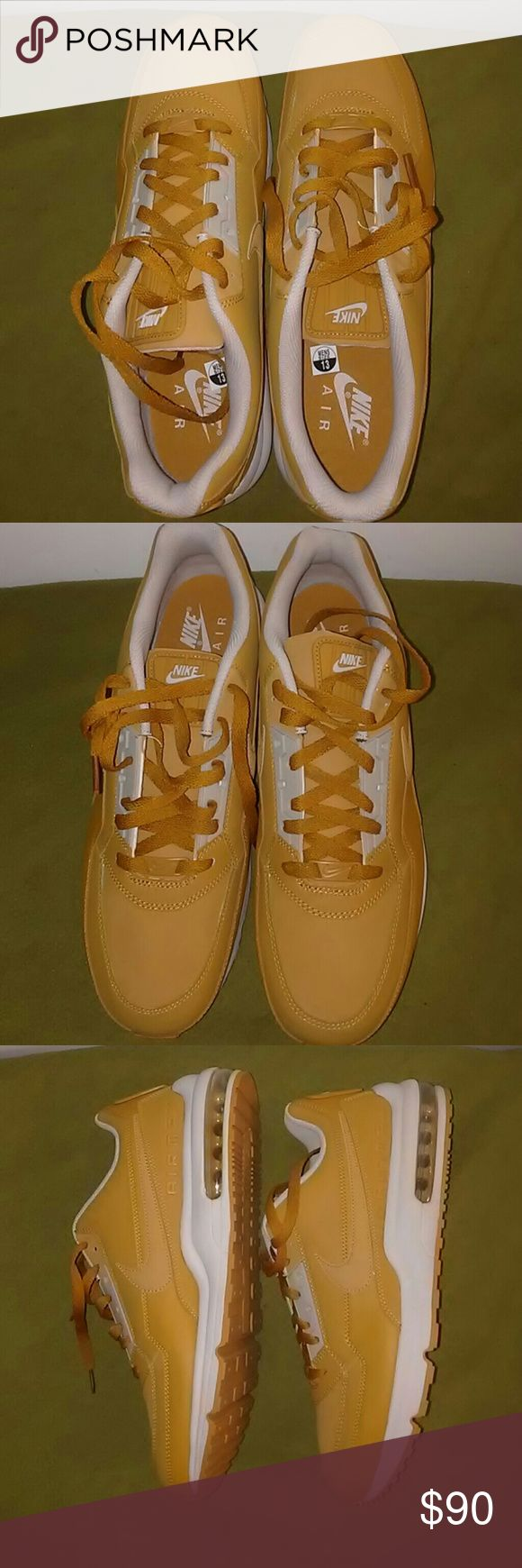 Nike Air max LTD Size 13 Nike Air max LTD Wheat color way Size 13 New- With out Box Classic shoe 100% authentic  Price negotiable Nike Shoes Sneakers