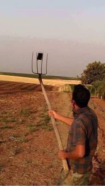 la fourche à selfies