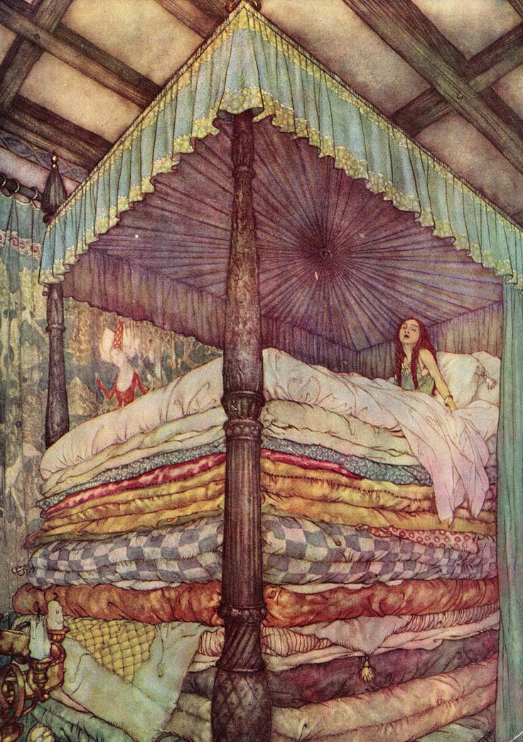 Enchanting Imagery — Not a wink the whole night long. An Edmund Dulac...