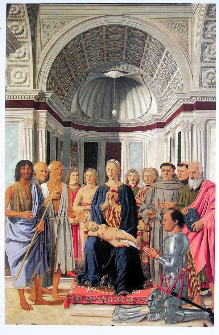 PIERO DELLA FRANCESCA, Sacra conversazione, 1472-1474, Milano