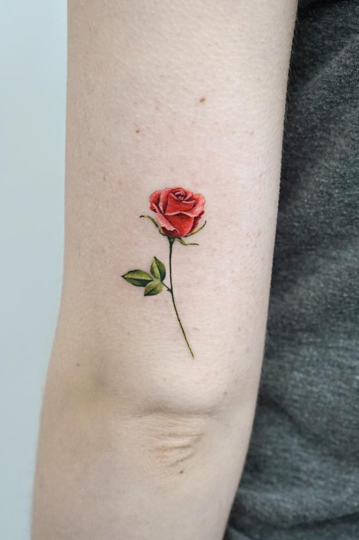 36 Most Beautiful Flower Tattoo Designs To Blow Your Mind Page 21 Of 36 Belikeanactress Com Beautiful Flower Tattoos Rose Tattoo Small Rose Tattoo