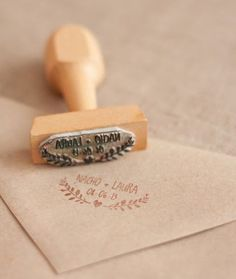tampons invitations mariage