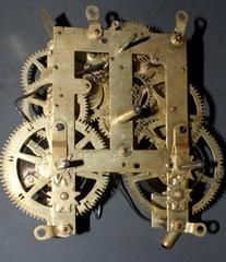 EN Welch Repair / Rebuild Service For EN Welch Time And Strike Clock Movement