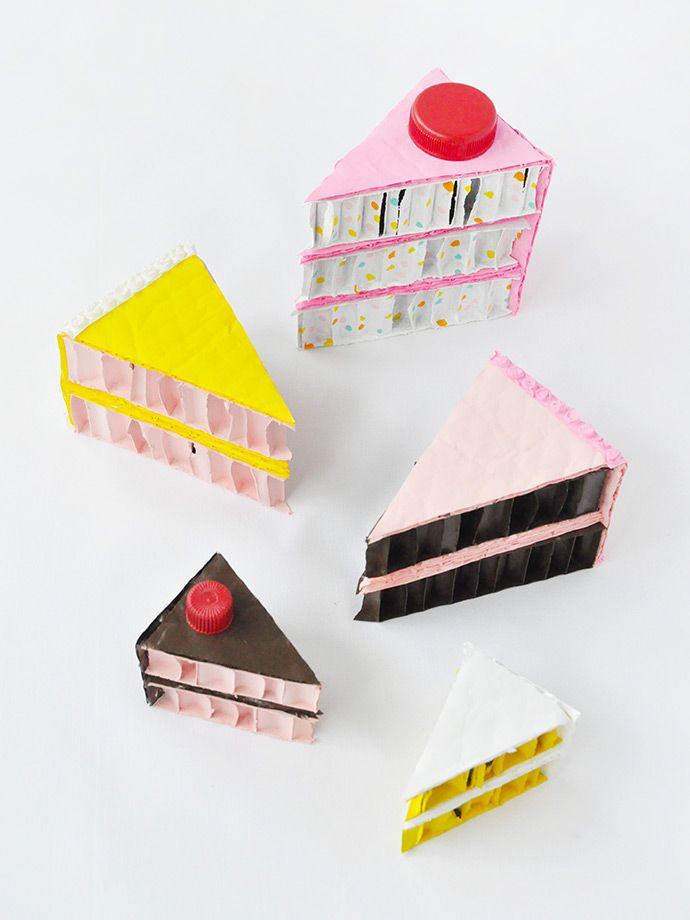 Recycled Cardboard Play Food | Handmade Charlotte
