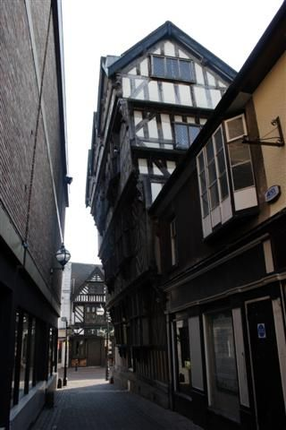 The Ancient High House, Stafford, England is the largest timber framed house in England. dating back to 1595. King Charles stayed her in 1642, now a museum