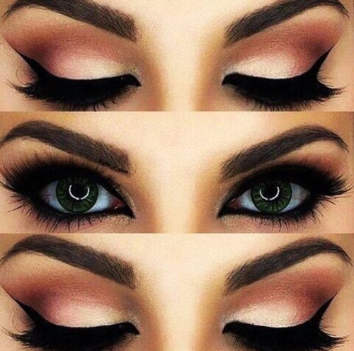 Image de makeup, eyes, and beauty