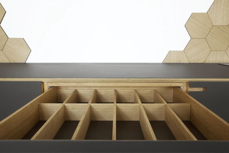 Minimalistic oakwood interior - by Nicolaj Bo™