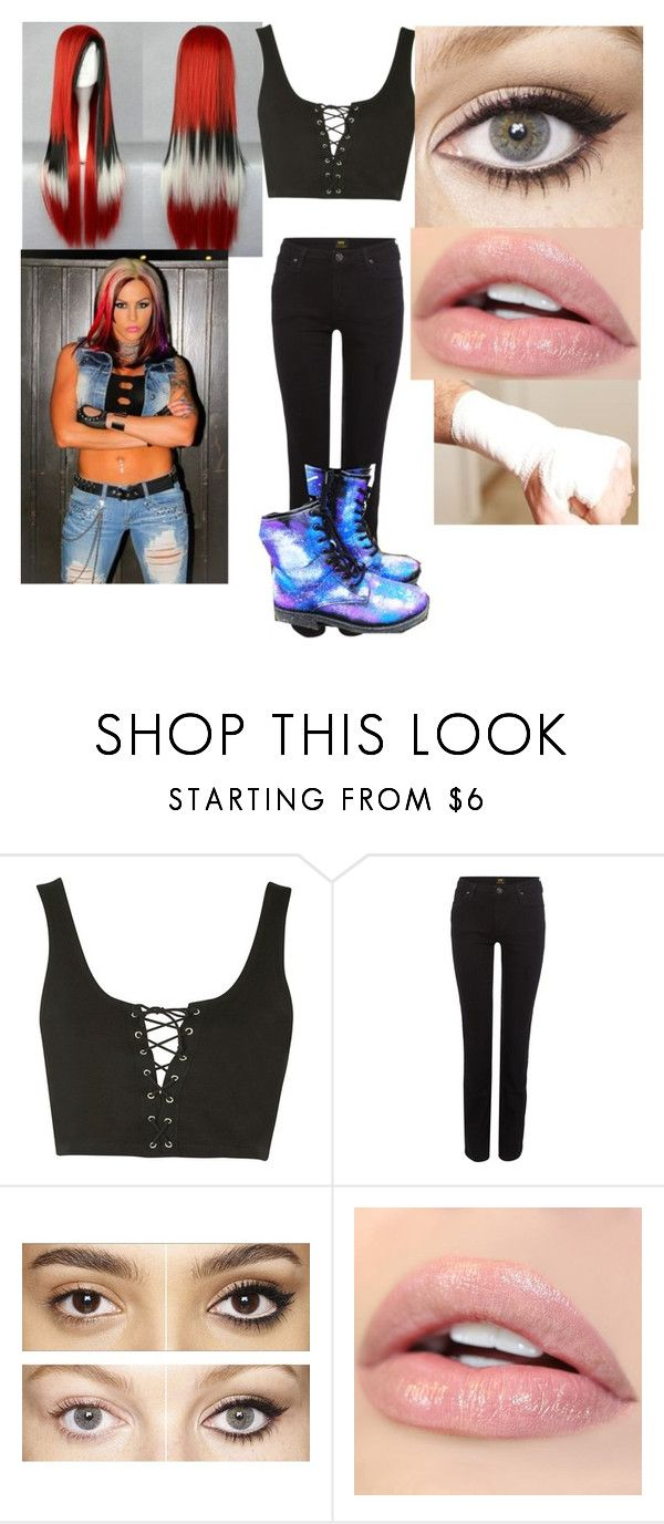 """Untitled #64"" by rebel-gg ❤ liked on Polyvore featuring Topshop, Lee, Charlotte Tilbury and TNA"