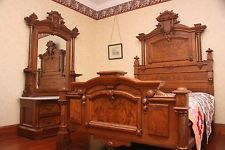 Antique Early Victorian Bedroom Set