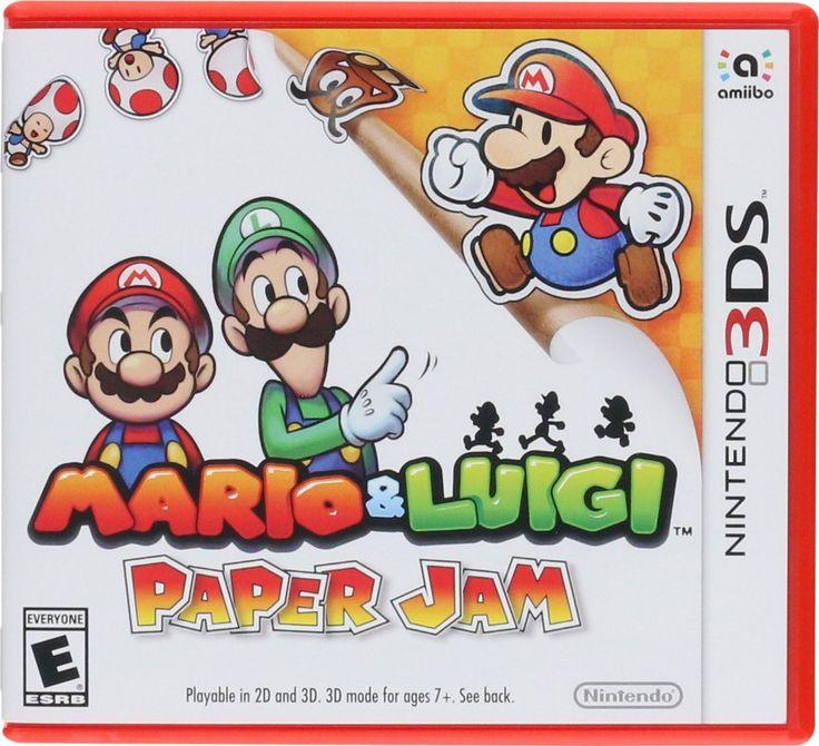 Don't forget, retro games isn't all that we sell! Mario and Luigi: ... http://www.retroarkayde.com/products/mario-and-luigi-paper-jam?utm_campaign=social_autopilot&utm_source=pin&utm_medium=pin #gaming