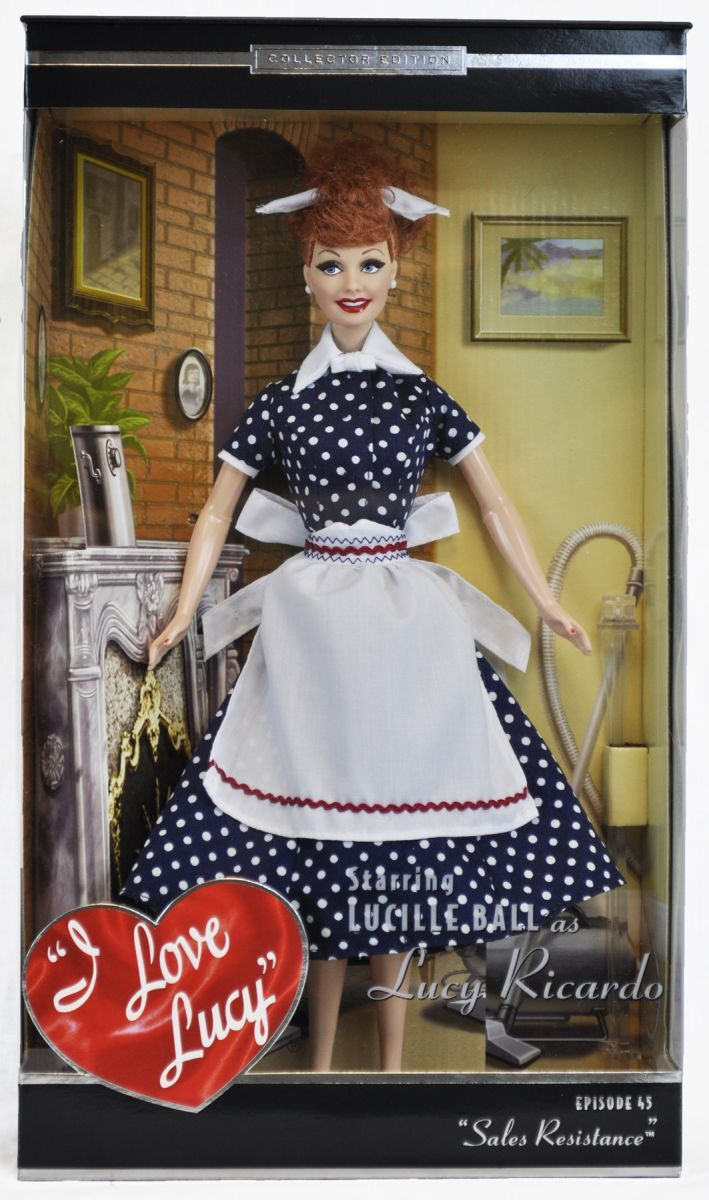 I Love Lucy Sales Resistance Mattel Doll | LucyStore.com, $85.95