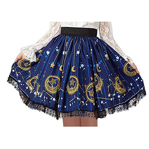 Partiss Damen Gothic Lolita Japanisch Kawaii Lace Punk Ball Gown Klassischer Minirock Cosplay Fancy Muster Faltenrock,Chinese XS,Dark blue Partiss http://www.amazon.de/dp/B01DETNVIQ/ref=cm_sw_r_pi_dp_swn9wb0VKDW82