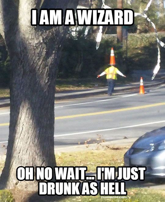 Top Funny Meme Websites : I am a wizard funny drunk meme picture best humor website