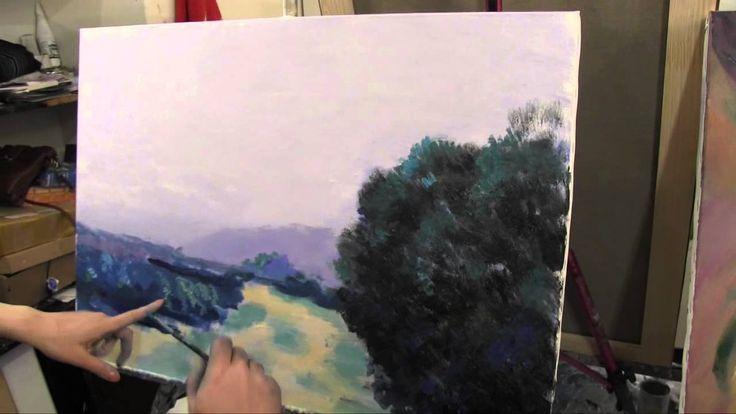 Импрессионизм для начинающих, художник Игорь Сахаров, уроки живописи в М...
