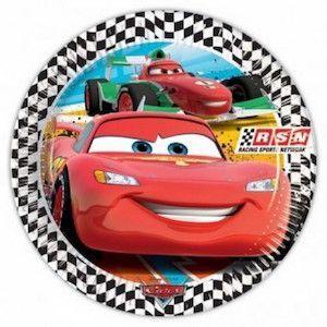 24 Kişilik Cars-Arabalar Doğum Günü Parti Seti - Doğum Günü Süsleri   Nice Yaşlara