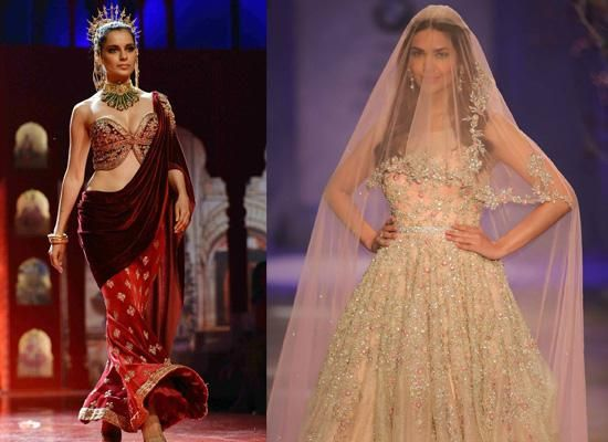 Top 7 Trendy Looks You Must Steal From Indian Bridal Fashion Week 2014