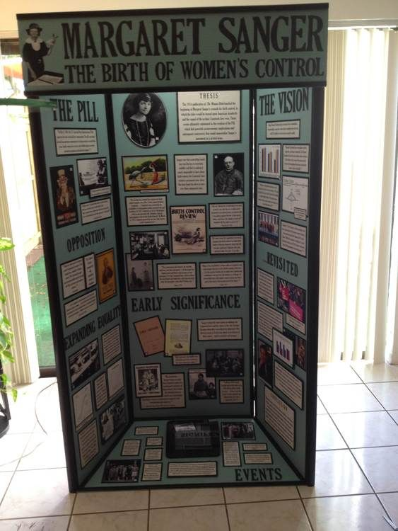thesis for history fair
