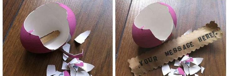 Un mesaj intr-un ou