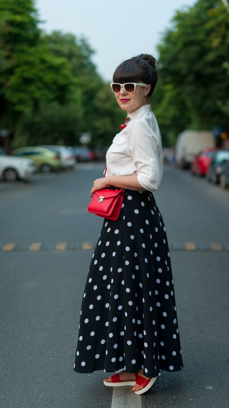 Summer dots and cherries
