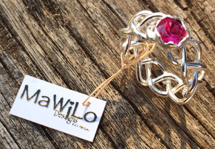 MaWiLo Designs  Sterling silver braid ring mawilo.designs@gmail.com