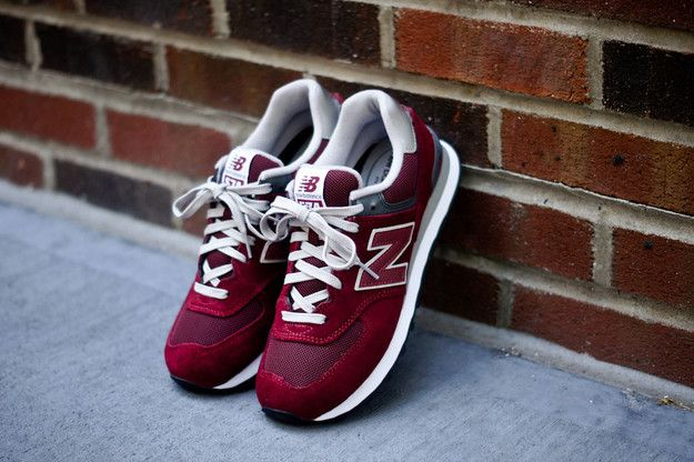 New Balance 574 - Burgundy | Sneaker | Kith NYC ($75.00) - Svpply