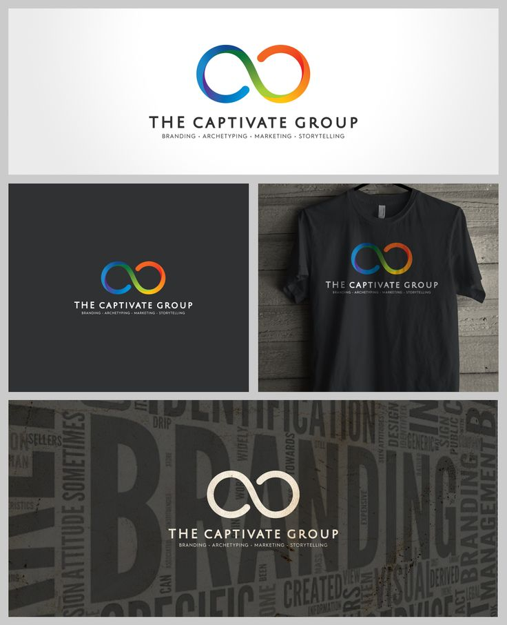 The Captivate Group, Logo, Powerpoint