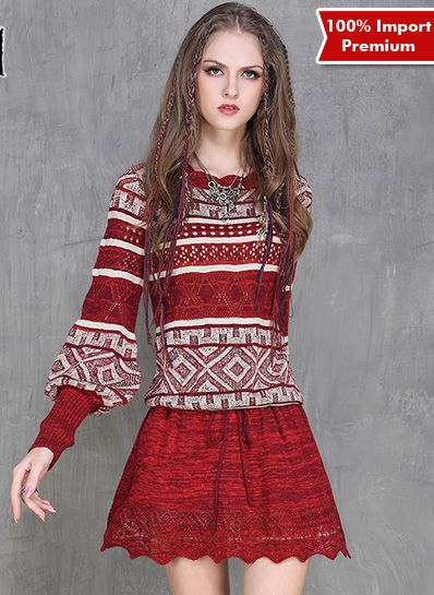 Sweater Rajut Import Premium 599PR  | shopasista.com | Distributor baju import | distributor baju korea | grosir baju korea | grosir baju import | supplier baju korea tangan pertama | importir baju korea