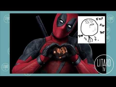 El súper beso de Ryan Reynolds Deadpool y Andrew Garfield Spiderman | LI...