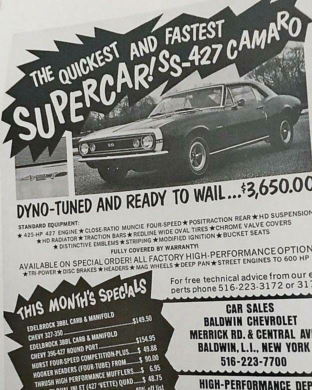 Camaro Muscle Car Ads Vintage Muscle Cars Best Muscle Cars