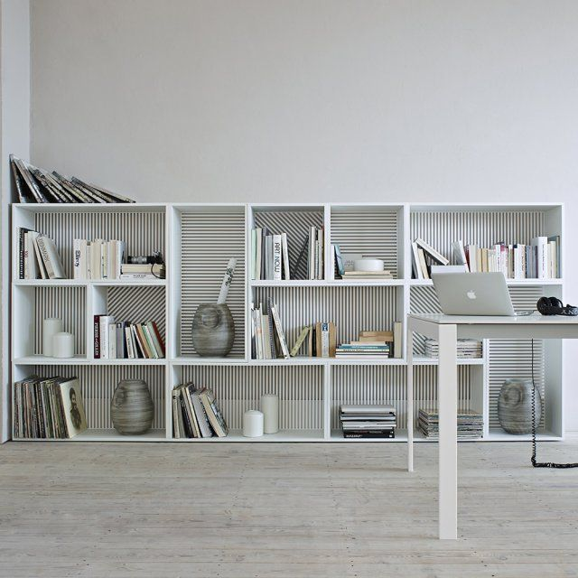 286 best biblioth que et tag res bookcases and shelves images on pinterest - Bibliotheque basse design ...