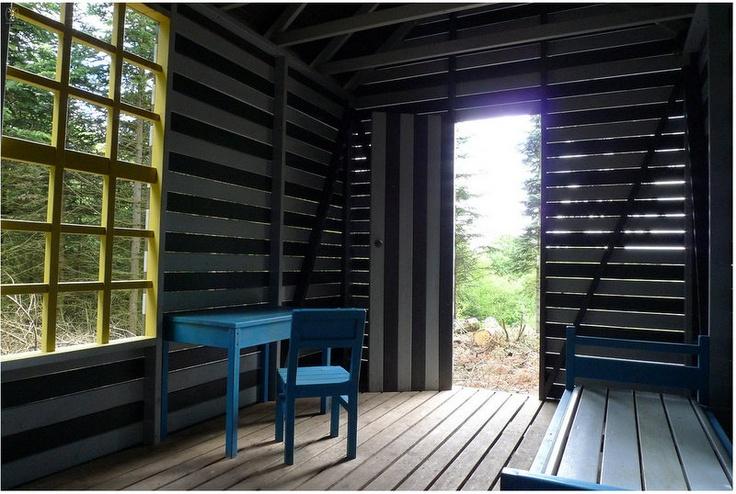 Thoreau's Cabin, Soeren Taaning www.skovsnogen.dk
