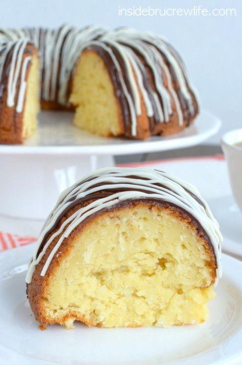 Coconut Cream Bundt Cake from Inside Brucrew Life