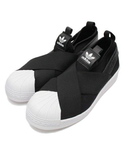 【ZOZOTOWN|送料無料】adidas(アディダス)のスリッポン「オリジナルス スーパースタースリッポン[Superstar Slip On W]」(JQB65)を購入できます。