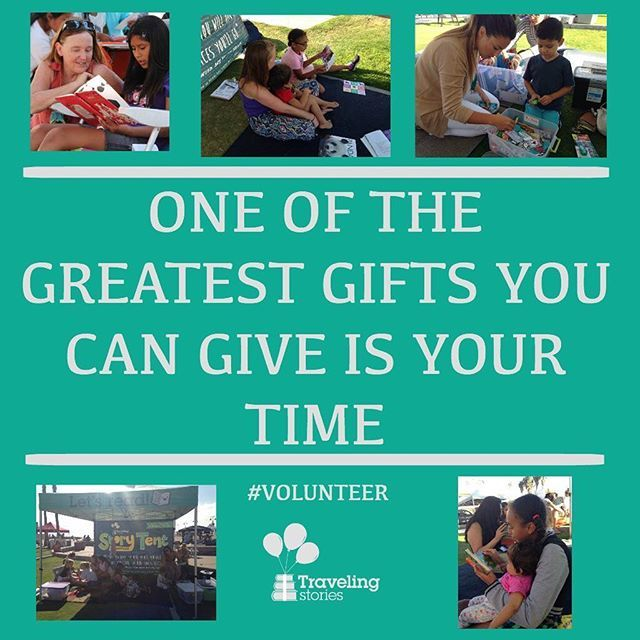 Did you know that volunteers feel more accomplished & capable, live longer, and have a 27% better chance of gaining employment? And at Traveling Stories, they also get to give our readers another amazing gift: literacy. We're always hiring - so apply to volunteer with us today! Travelingstories.org/volunteer . . . #volunteer #travelingstories #love #live #employment #hiring #nonprofit #literacy #read #kidslit #books #children #sandiego #sandiego #sandiegoconnection #sdlocals #sandiegolocals…
