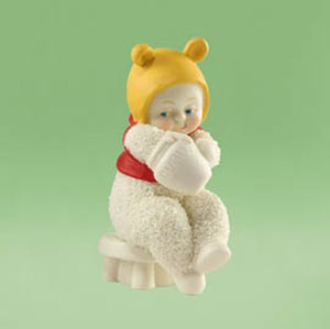 """Department 56 Snowbabies Snowbabies Guest Collection """"Honey For My Tummy"""""""