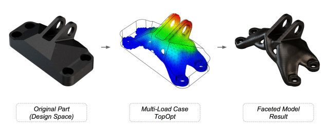 Topology Optimization for 3D Printing Hits the Cloud with Generate #3DPrinting