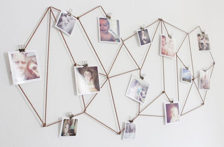 """""""How to Hang Pictures in 20 Different Ways   StyleCaster"""" Cool!"""